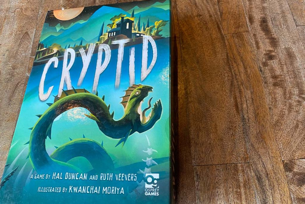 Cryptid Board Game Box Art