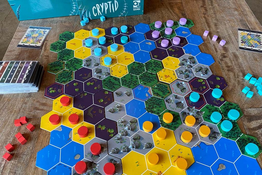 Cryptid Board Game Player View