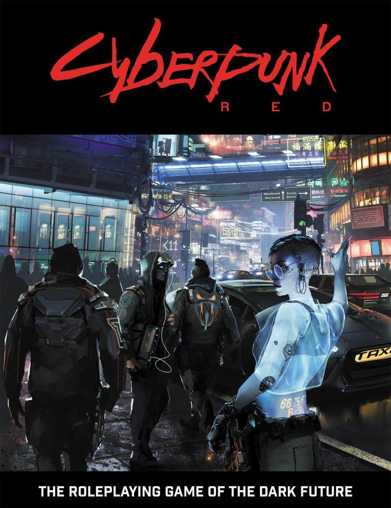 Cyberpunk Red Board Game Cover