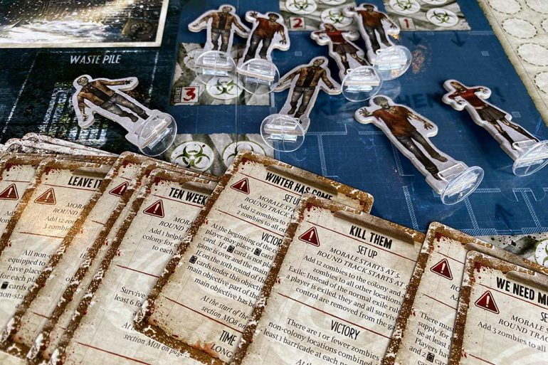 Dead of Winter Board Game Objectives