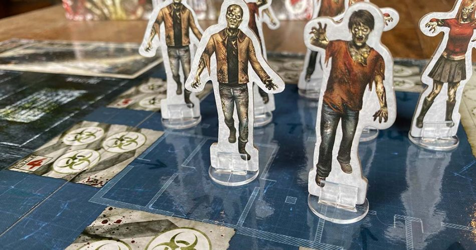Dead of Winter Board Game Zombies