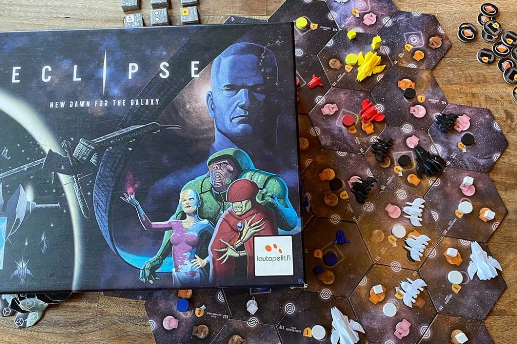 Eclipse Board Game Box Art