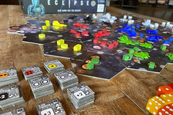 Eclipse Board Game Components