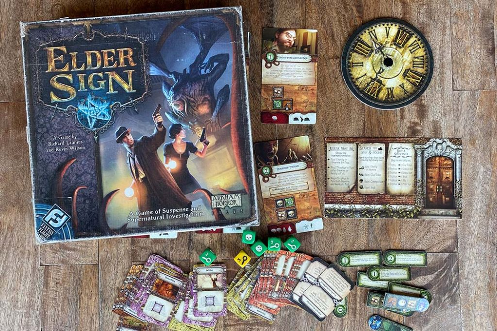 Elder Sign Board Game Box Art