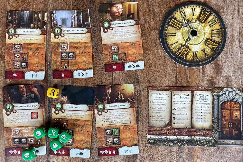Elder Sign Board Game Gameplay