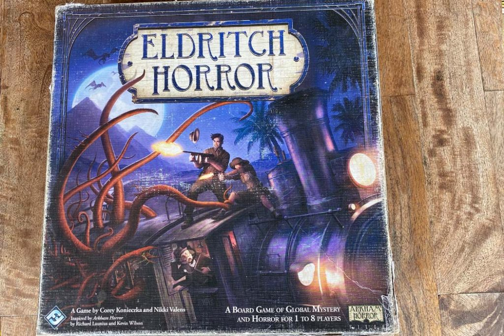 Eldritch Horror Board Game Box Art