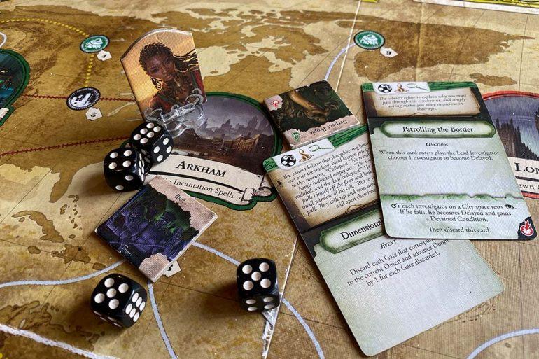 Eldritch Horror Board Game Gameplay