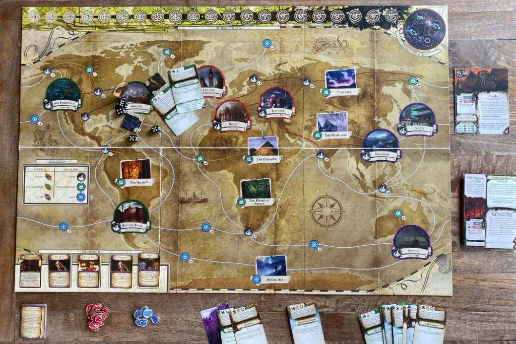 Eldritch Horror Board Game Overview
