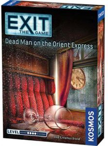 Exit The Game Dead Man on Orient Express Box