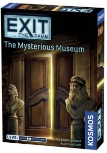 Exit The Game Mysterious Museum Box