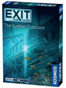 Exit The Game Sunken Treasure Box