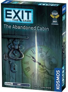 Exit The Game The Abandoned Cabin Box