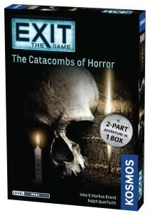Exit The Game The Catacombs Of Horror Box