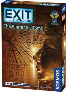 Exit The Game The Pharaohs Tomb Box