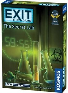 Exit The Game The Secret Lab Box