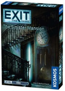 Exit The Game The Sinister Mansion Box