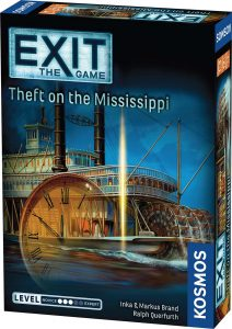 Exit The Game Theft On The Mississippi Box