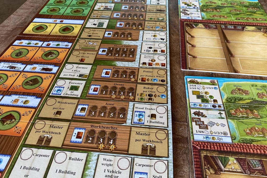 Fields of Arle Board Game Overview