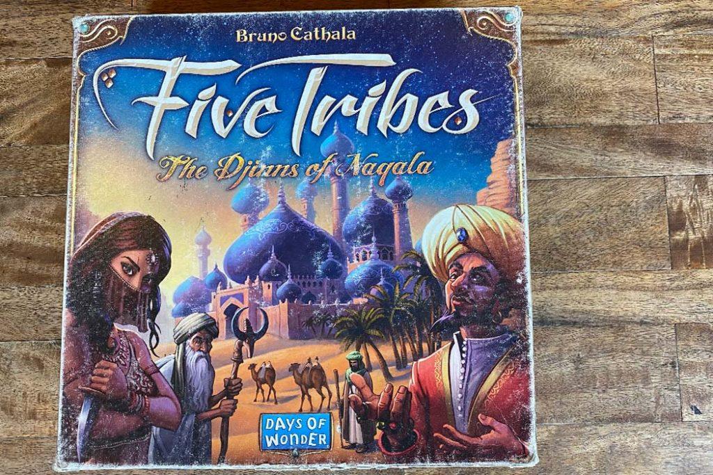 Five Tribes Board Game Box Art