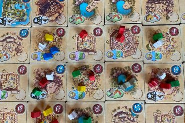 Five Tribes Board Game Overview