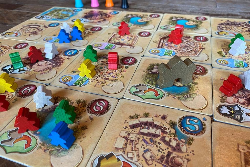 Five Tribes Board Game Player View