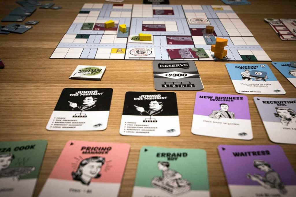 Food Chain Magnate Board Game Player View