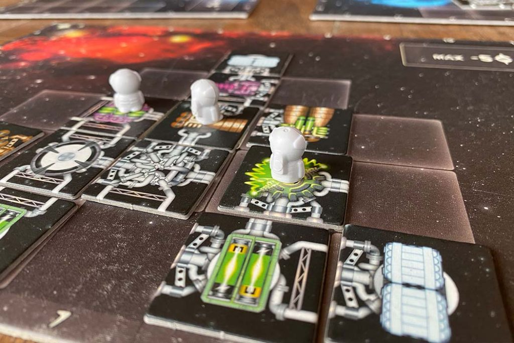 Galaxy Trucker Board Game Player Ship