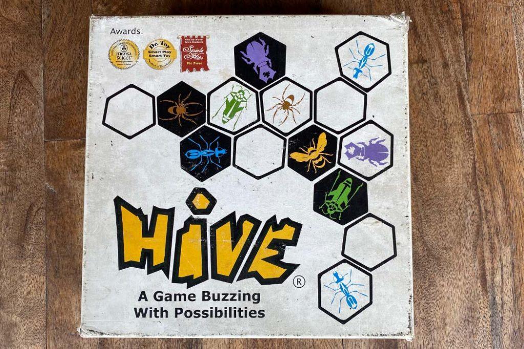 Hive Board Game Box Art