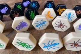 Hive Board Game Pieces