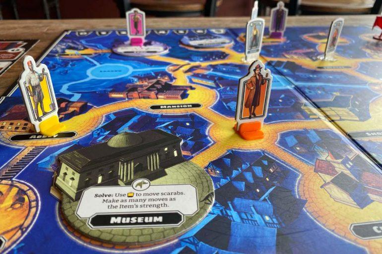 Horrified Board Game Gameplay Dracula