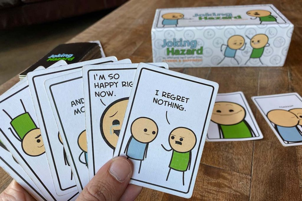 Joking Hazard Board Game Cards