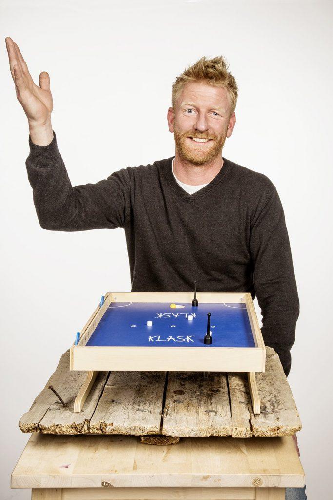 Klask Designer Mikkel Bertelsen Interview Headshot