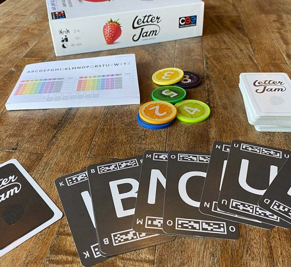 Letter Jam Board Game Overview