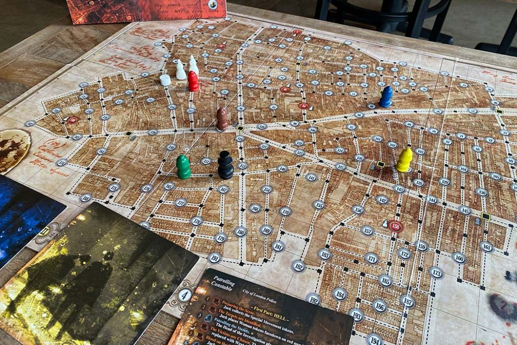 Letters From Whitechapel Board Game Overview