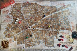 Letters From Whitechapel Board Game Player Board