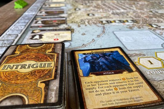 Lords of Waterdeep Board Game Intrigue
