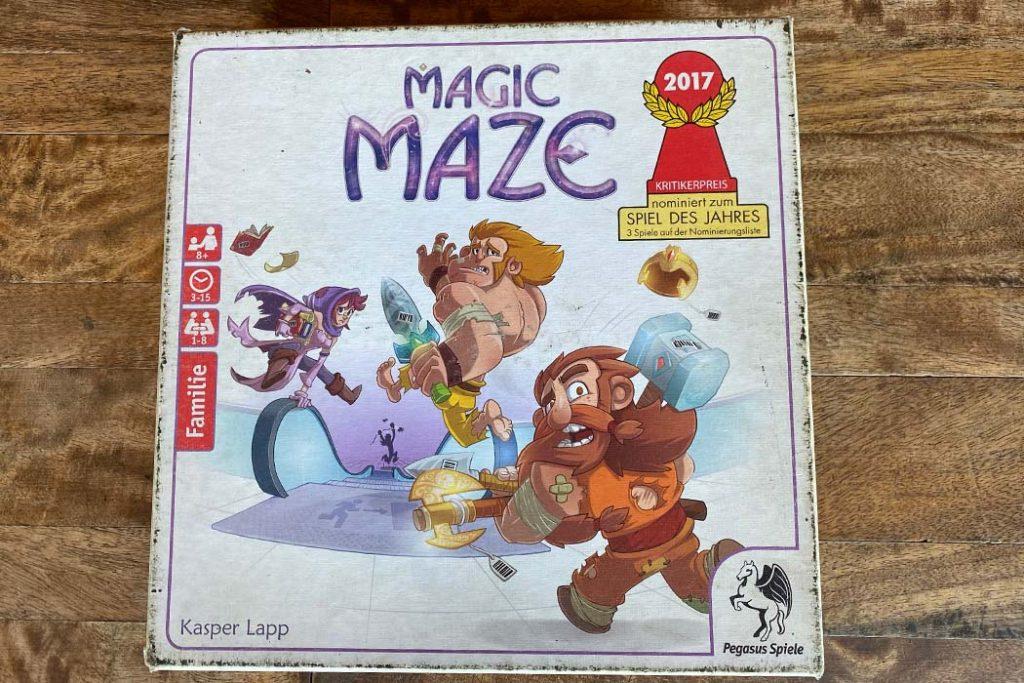 Magic Maze Board Game Box Art