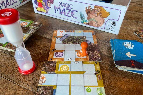 Magic Maze Board Game Overview