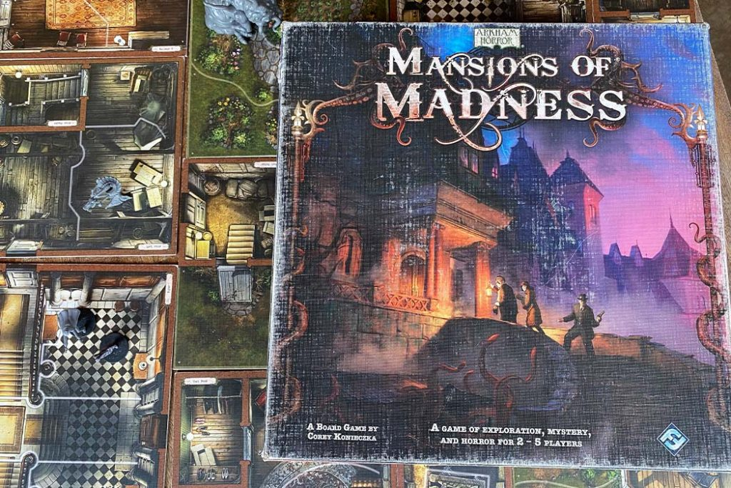 Mansions of Madness Board Game Haunted Mansion