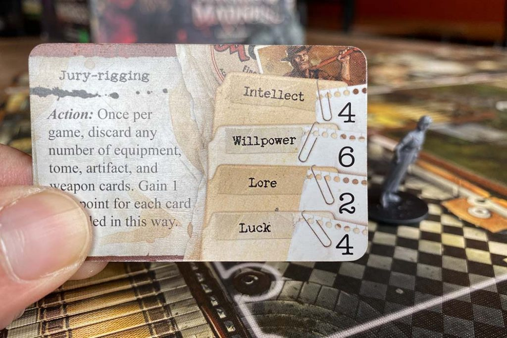 Mansions of Madness Board Game Cards