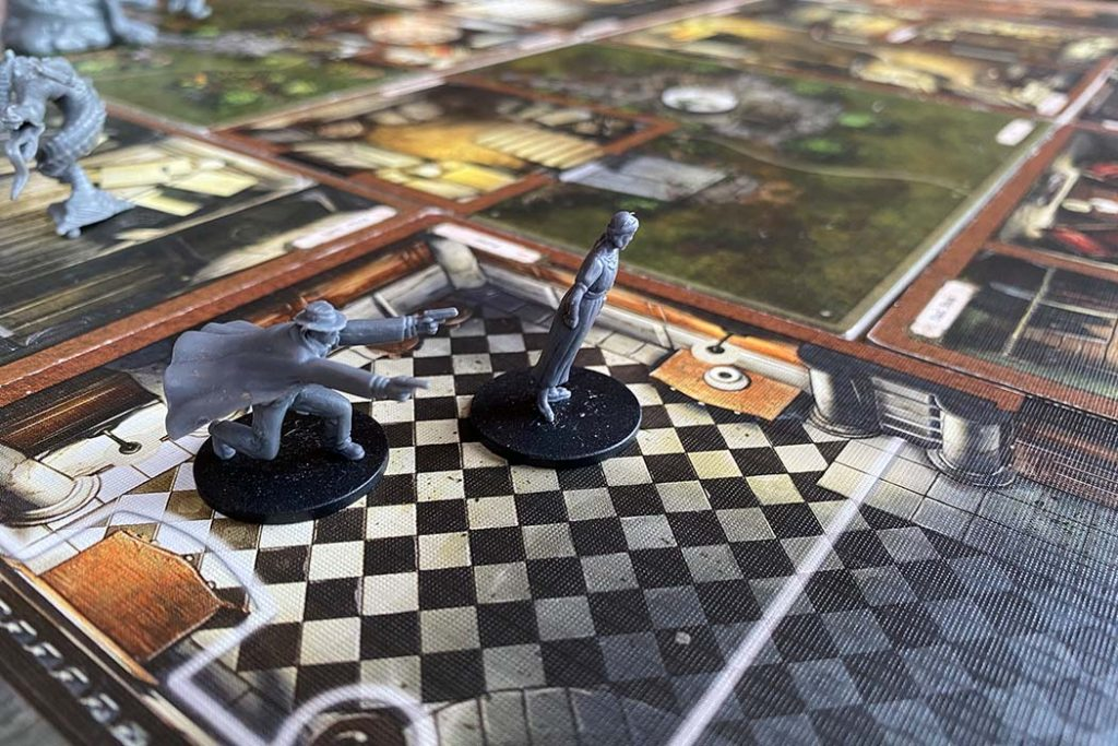Mansions of Madness Board Game Gameplay