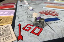 Monopoly Board Game Go Space