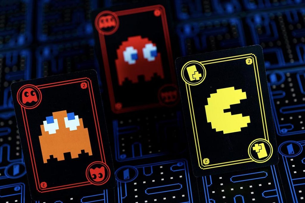 New Pac-Man Card Game Ghost Fruit Card