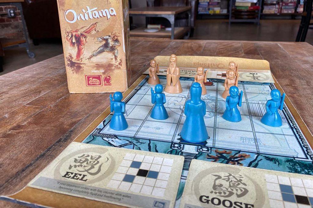 Onitama Board Game Box Art