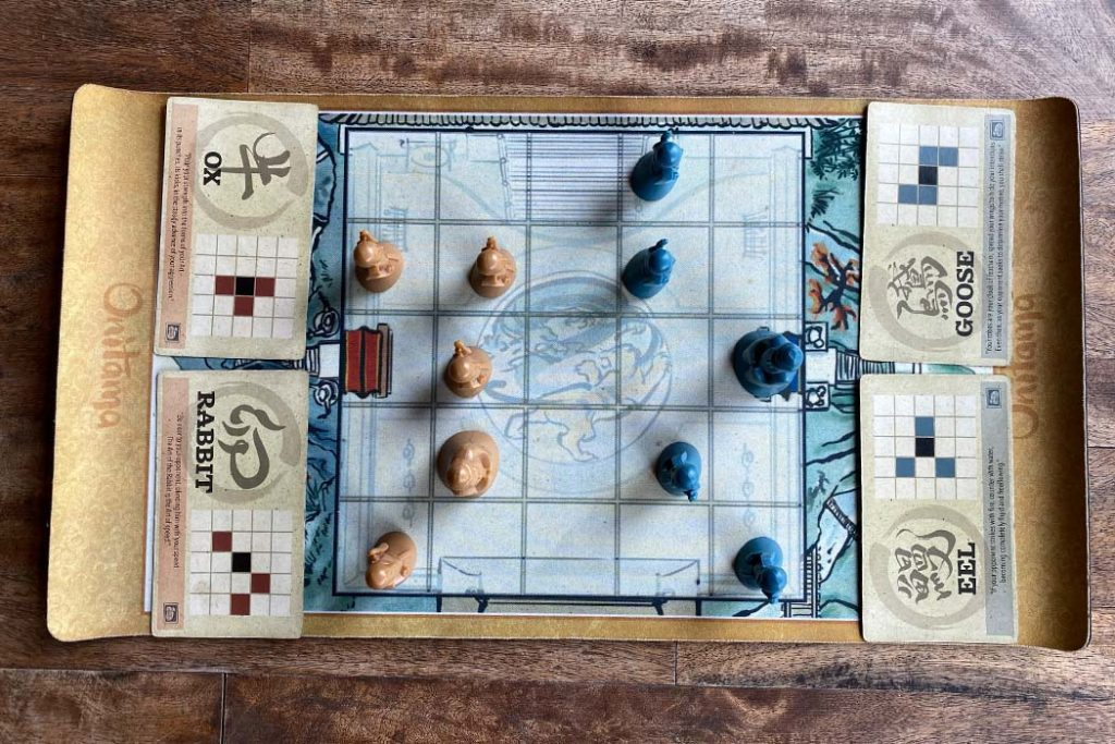 Onitama Board Game Overview