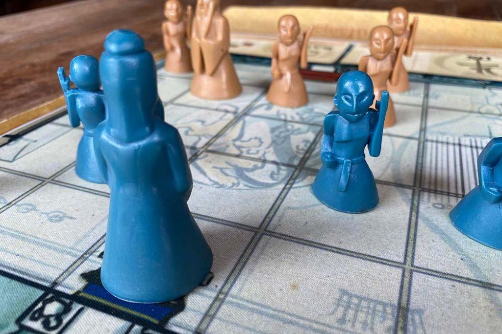 Onitama Board Game Pieces