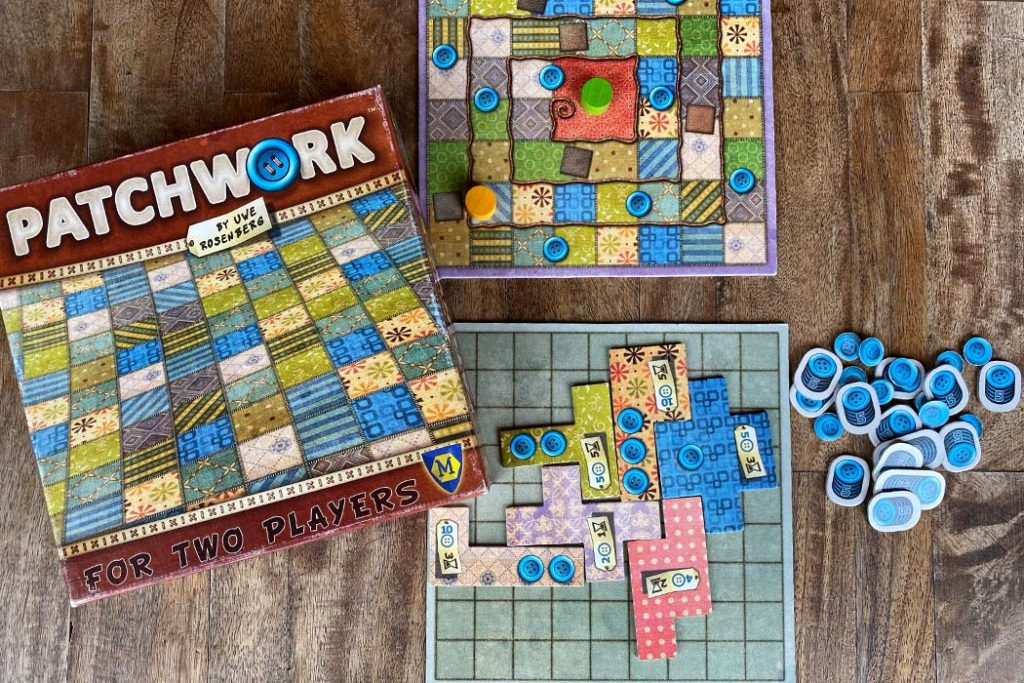 Patchwork Board Game Box Art