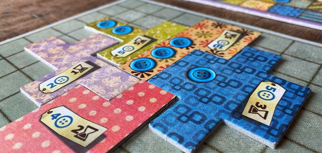 Patchwork Board Game Player Board