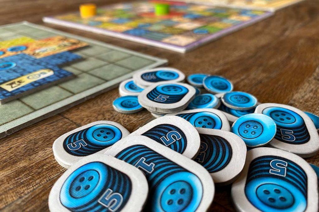 Patchwork Board Game Points