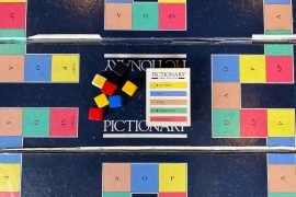 Pictionary Board Game; Overview